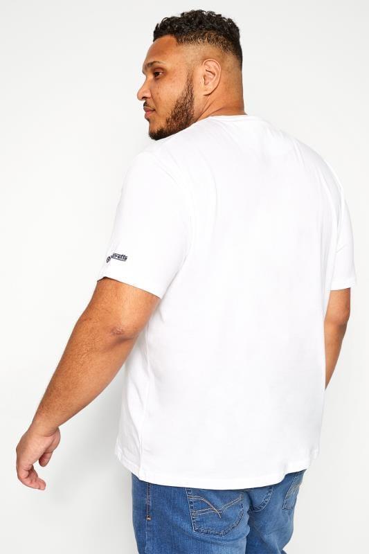 LAMBRETTA White Logo Graphic Print T-Shirt