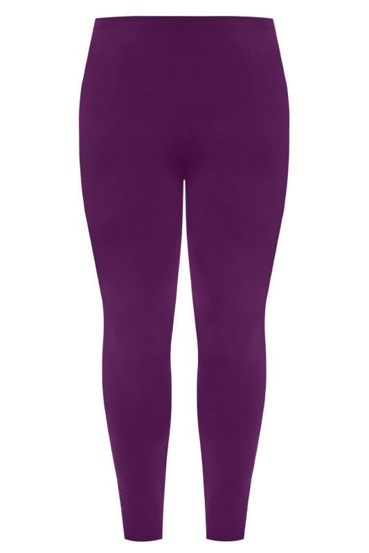 Purple Fashion Leggings
