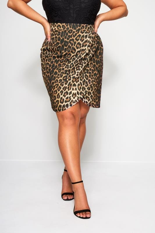 LIMITED COLLECTION Mini-Wickelrock - Leopard