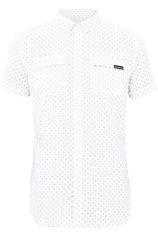 Casual Shirts LOYALTY & FAITH White Printed Shirt