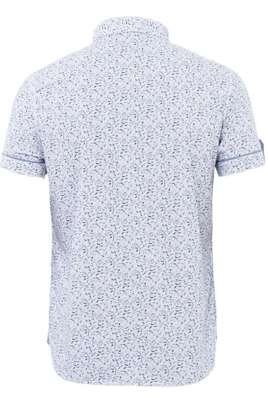 LOYALTY & FAITH Blue Printed Shirt
