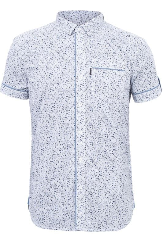 Casual Shirts LOYALTY & FAITH Blue Printed Shirt 201588