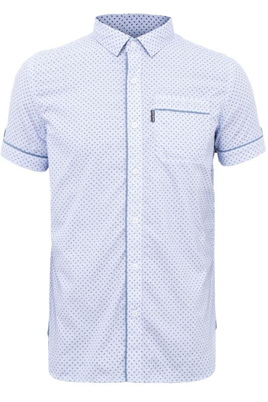 Casual Shirts LOYALTY & FAITH Light Blue Printed Shirt 201589