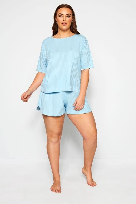 LIMITED COLLECTION Baby Blue Short & T-Shirt Lounge Set