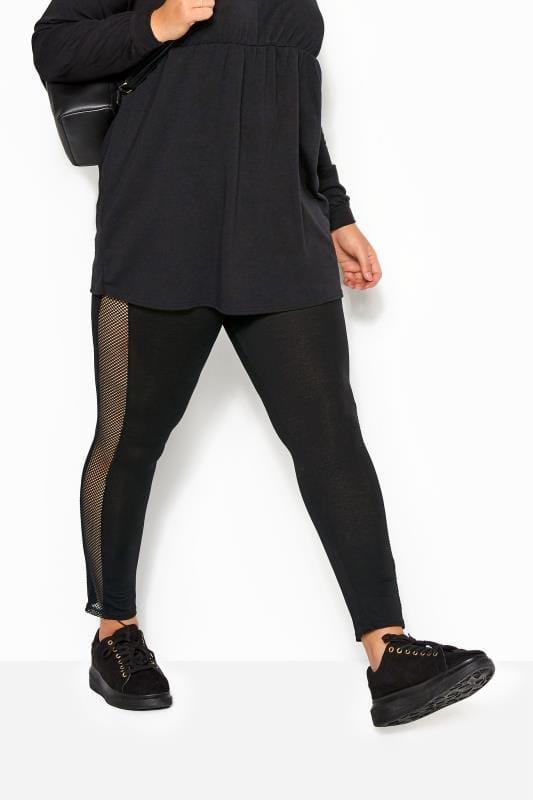 Fashion Leggings LIMITED COLLECTION Black Fishnet Leggings