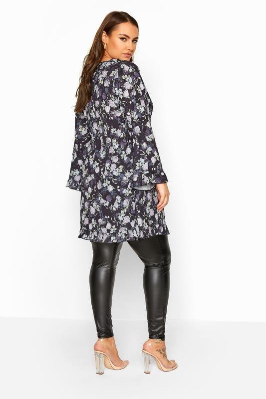 LIMITED COLLECTION Hänge-Kleid mit Rüschen-Details - Schwarz