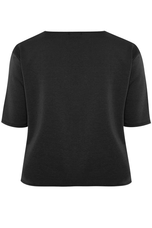 LIMITED COLLECTION Black Lounge Top