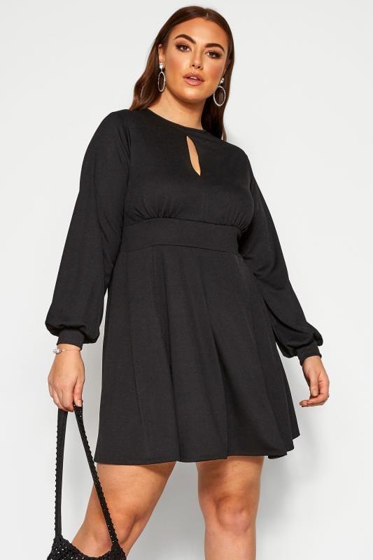 LIMITED COLLECTION Black Skater Dress