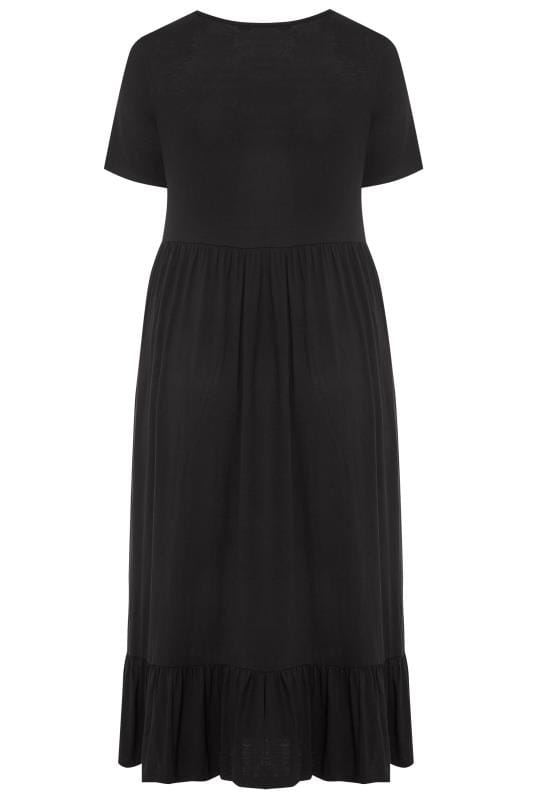 LIMITED COLLECTION Black Tiered Maxi Smock Dress_dcc9.jpg