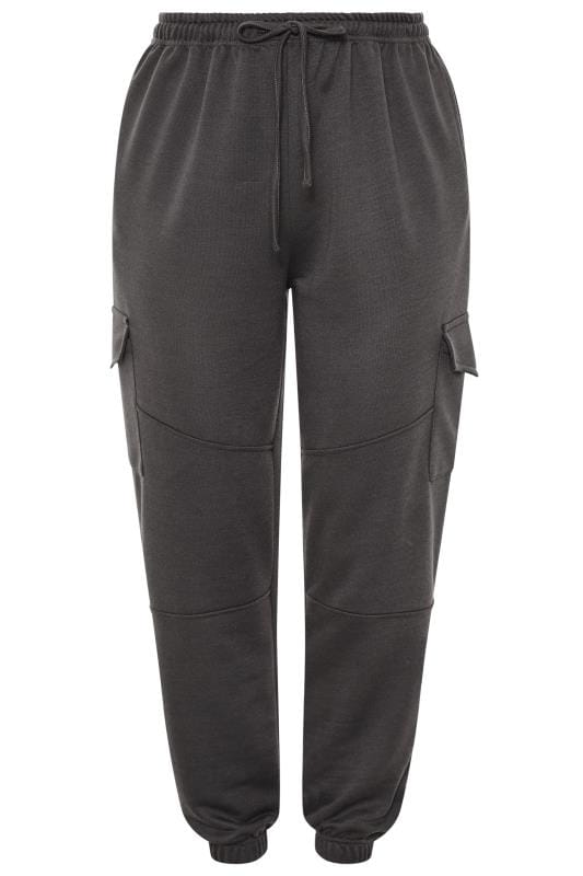 LIMITED COLLECTION Slate Grey Utility Joggers