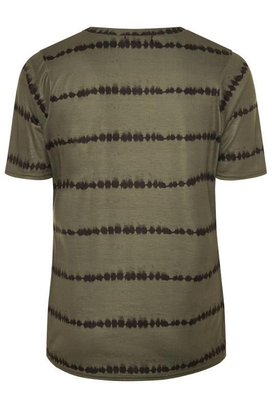 LIMITED COLLECTION Khaki Tie Dye Print Top