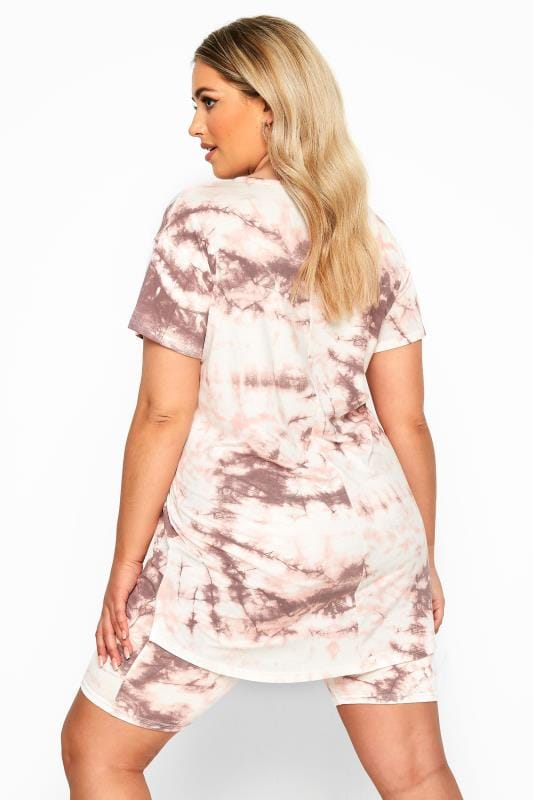 LIMITED COLLECTION Pink Tie Dye T-Shirt