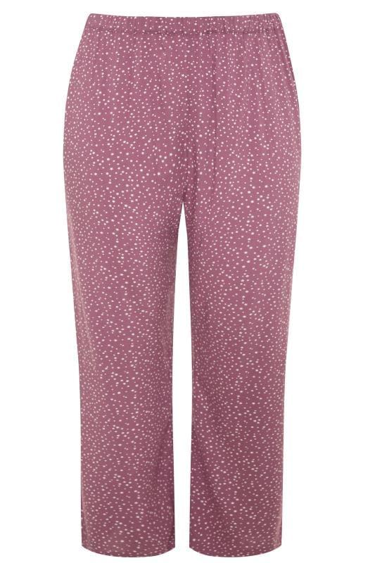 LIMITED COLLECTION Purple Star Wide Leg Pyjama Bottoms
