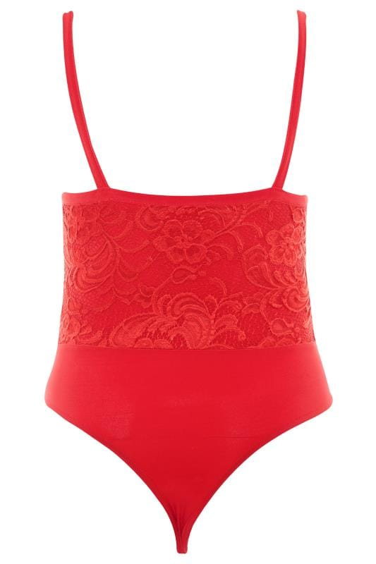 LIMITED COLLECTION Red Scalloped Lace Bodysuit_21bf.jpg
