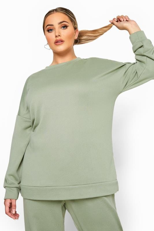 LIMITED COLLECTION Sage Green Sweatshirt