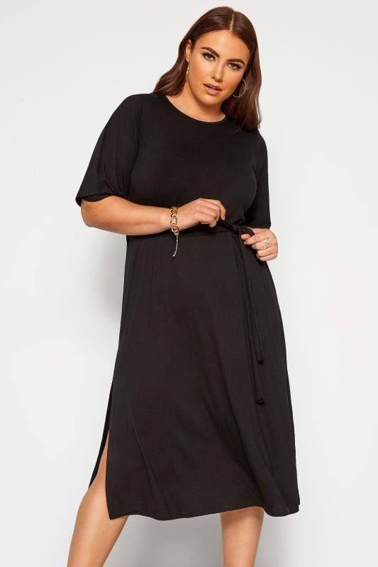 LIMITED COLLECTION Black Midi Dress