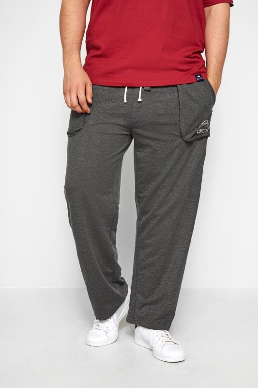LONSDALE Grey Mens Joggers