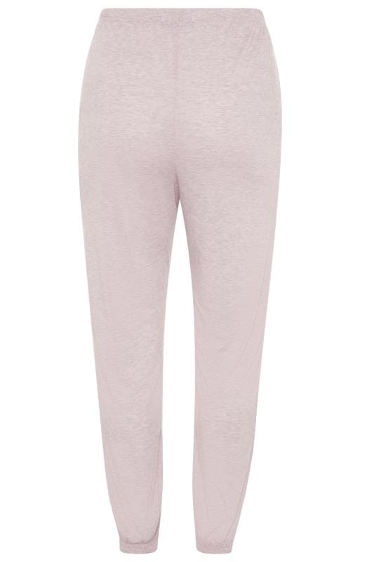 LIMITED COLLECTION Pink Marl Lounge Joggers