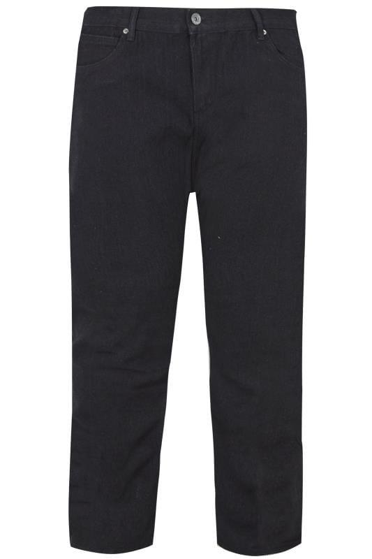 LOYALTY & FAITH Jeans mit geradem Bein - Stonewash Schwarz