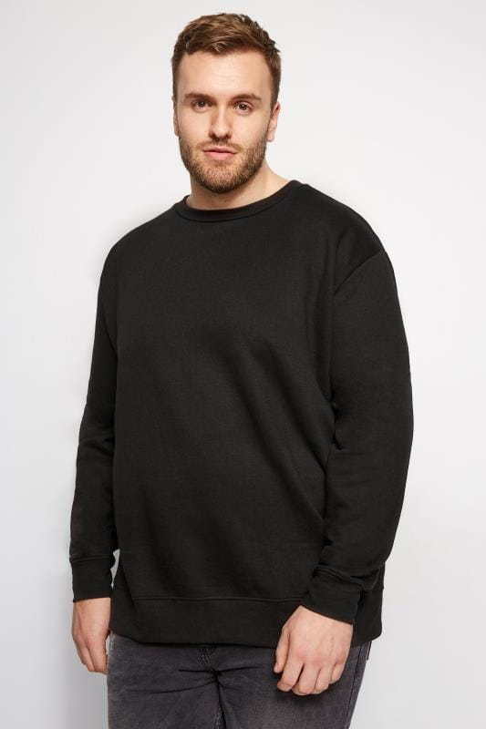 LOYALTY & FAITH Black Morecambe Sweatshirt