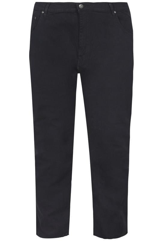 LOYALTY & FAITH Black Straight Leg Denim Jeans