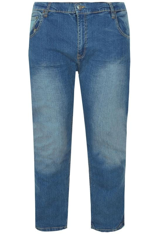 Straight LOYALTY & FAITH Blue Mid Wash Straight Leg Denim Jeans