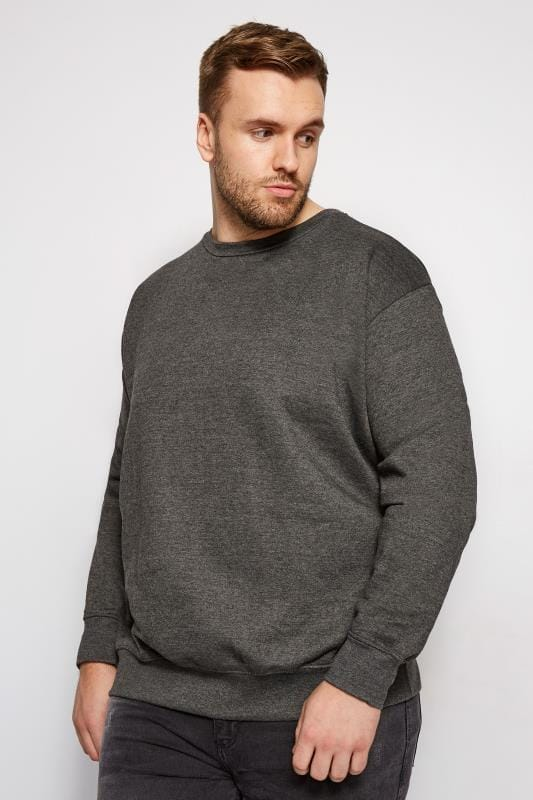 LOYALTY & FAITH Charcoal Grey Morecambe Sweatshirt