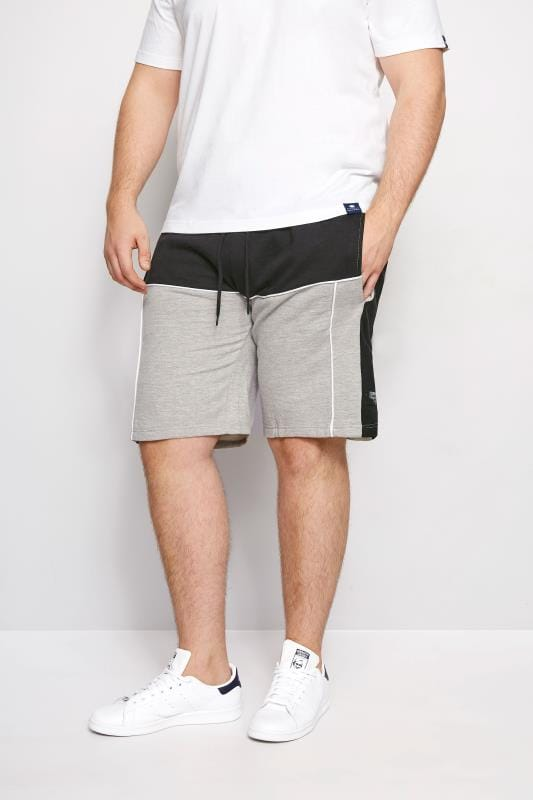 Jogger Shorts LOYALTY & FAITH Grey & Black Musto Short 200975