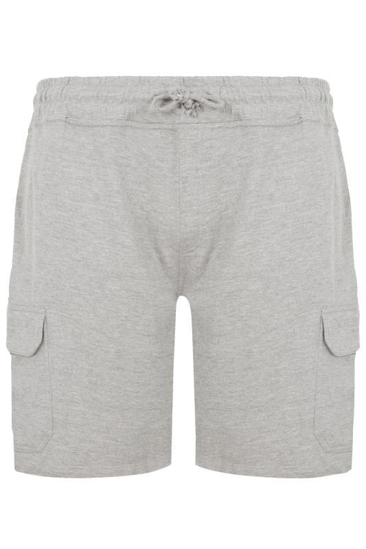 Plus Size Jogger Shorts LOYALTY & FAITH Grey Fleetwood Short