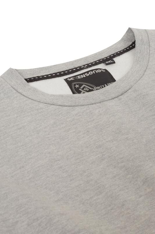 LOYALTY & FAITH Grey Marl Morecambe Sweatshirt