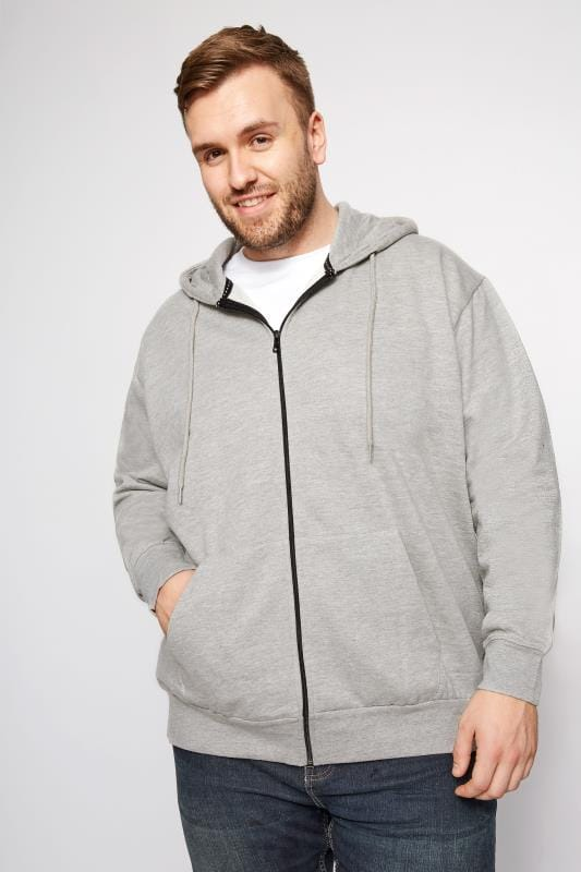 Plus Size Hoodies LOYALTY & FAITH Grey Poulton Sweatshirt