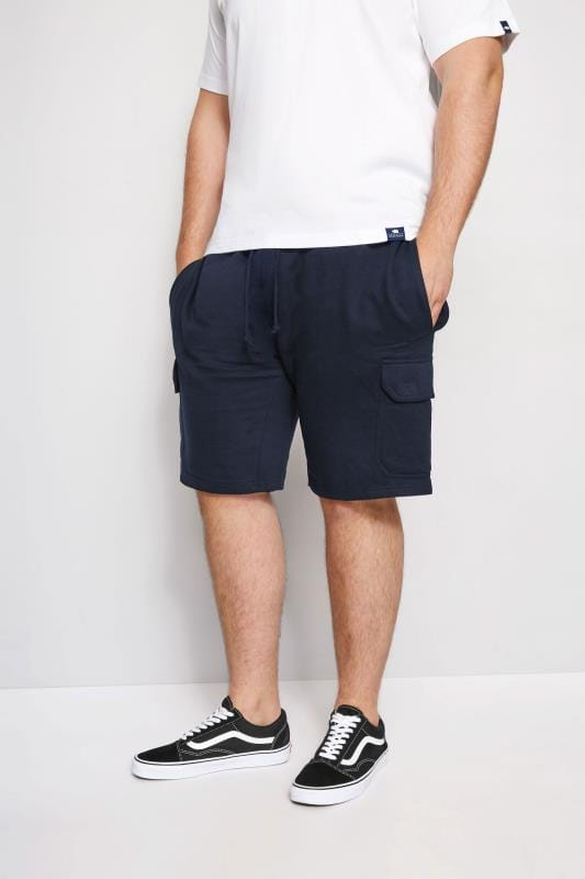 Jogger Shorts Tallas Grandes LOYALTY & FAITH Navy Fleetwood Short