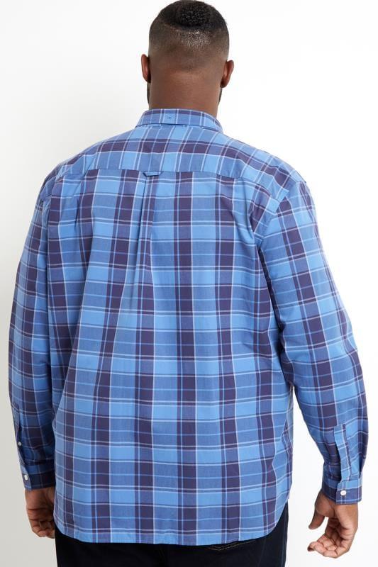 LYLE & SCOTT Blue Check Shirt