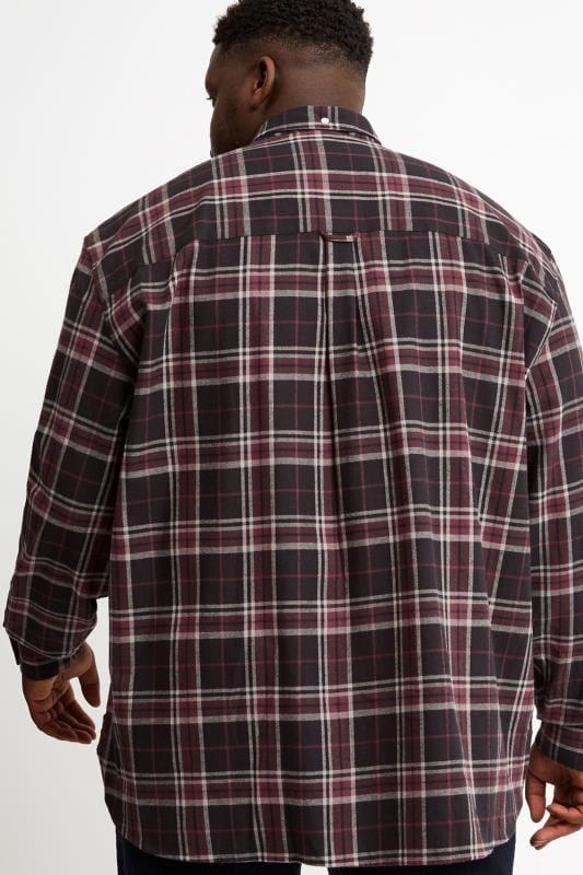 LYLE & SCOTT Black Check Flannel Shirt