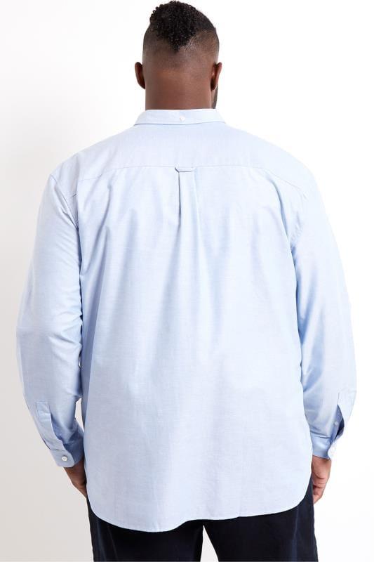 LYLE & SCOTT Blue Oxford Shirt