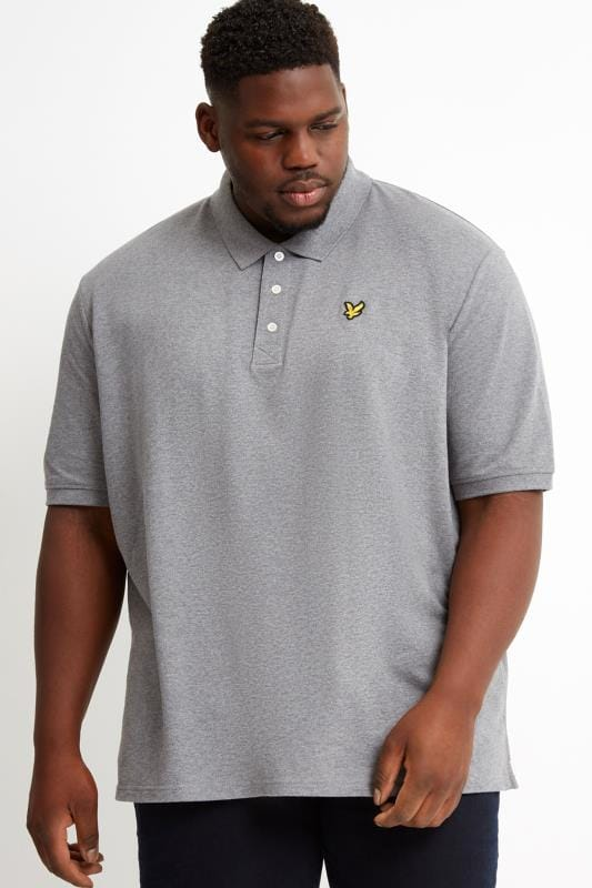 Polo Shirts LYLE & SCOTT Light Grey Polo Shirt