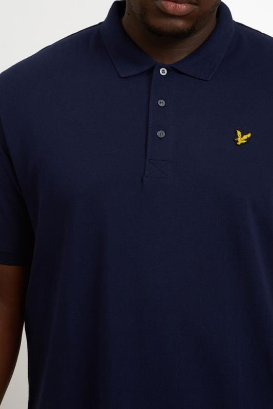 LYLE & SCOTT Navy Polo Shirt