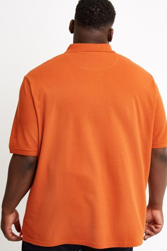 LYLE & SCOTT Orange Polo Shirt