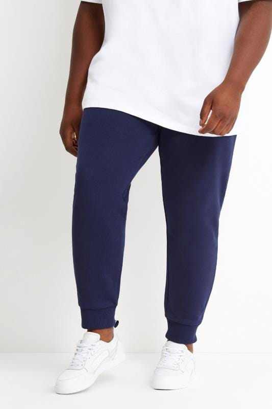 Joggers Grande Taille LYLE & SCOTT Navy Skinny Joggers