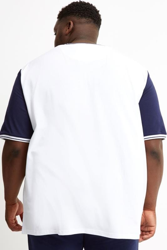 LYLE & SCOTT White Tipped T-Shirt