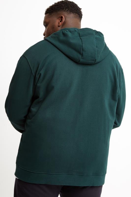 LYLE & SCOTT Green Zip Through Hoodie