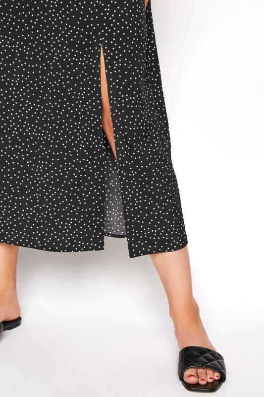 LTS Black Polka Dot Puff Sleeve Midaxi Dress_f97a.jpg