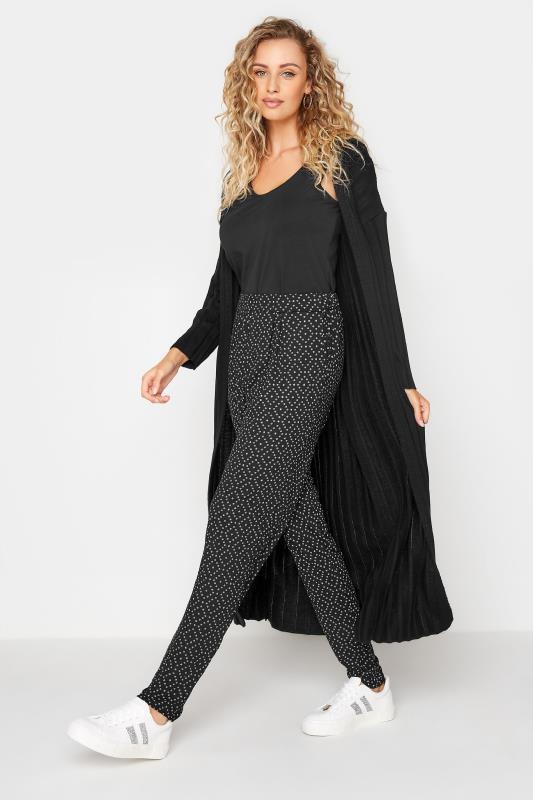 Tall  LTS Black Printed Harem Trouser