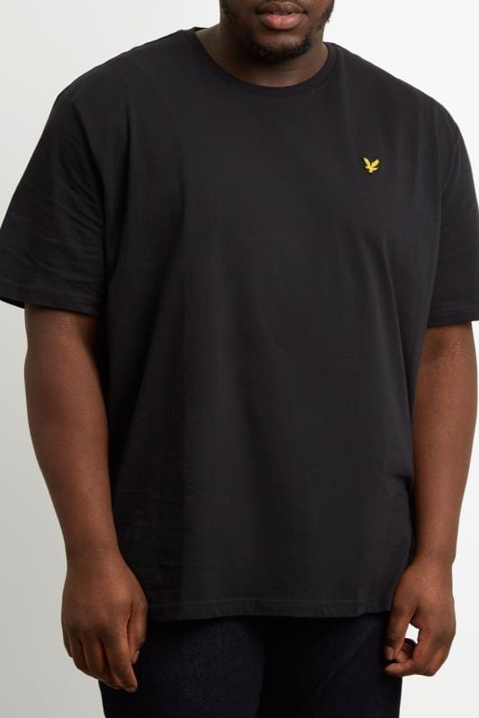 T-Shirts LYLE & SCOTT Black Crew Neck T-Shirt