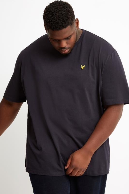 Большие размеры | Футболки LYLE & SCOTT Navy Crew Neck T-Shirt