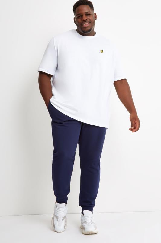 LYLE & SCOTT White Crew Neck T-Shirt
