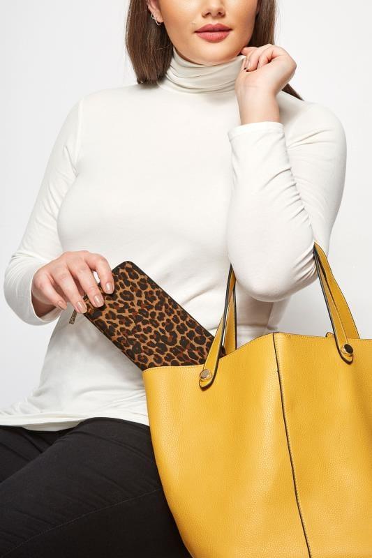 Bolsos y carteras Tallas Grandes Monedero leopardo