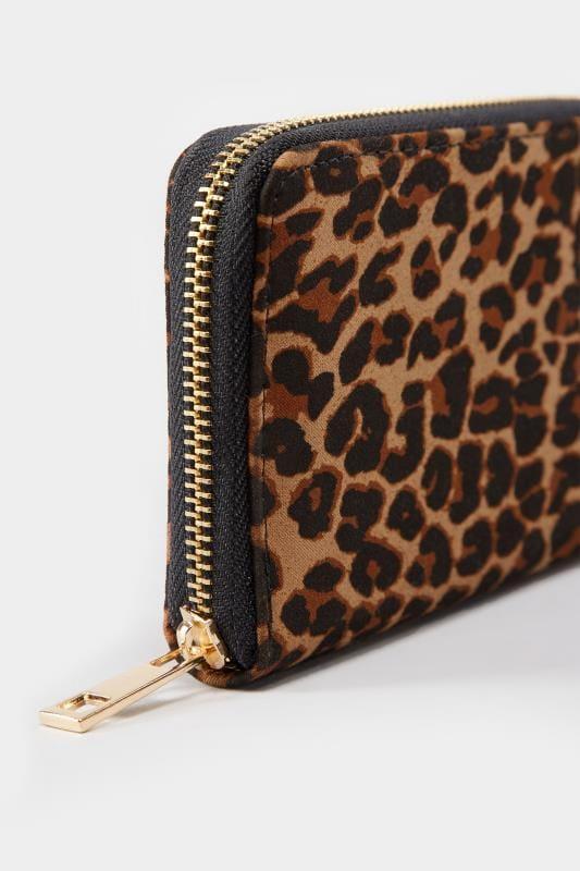 Geldbörse - Leopardenmuster