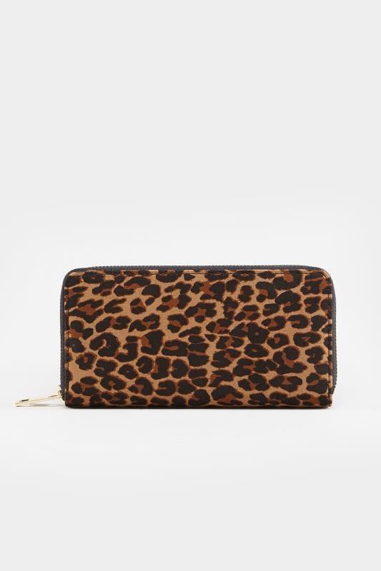 Geldbörse, Leopardenmuster