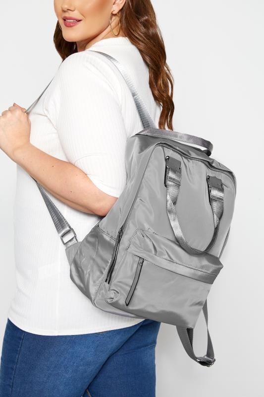 Shoulder Bags Light Grey Backpack